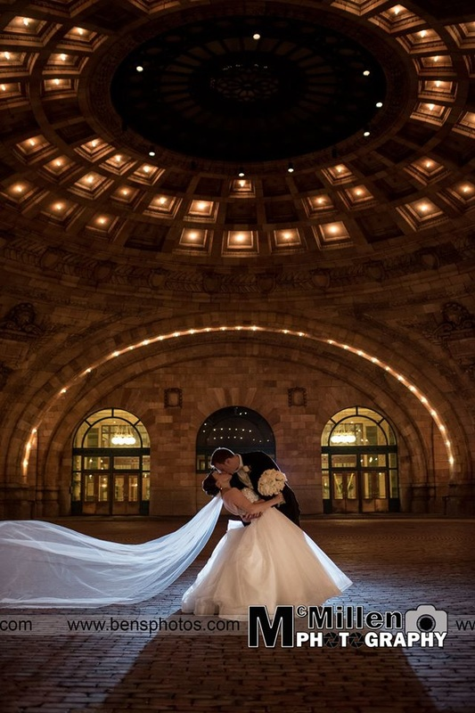 Pennsylvanian Union Station Wedding Photography -Pittsburgh , PA